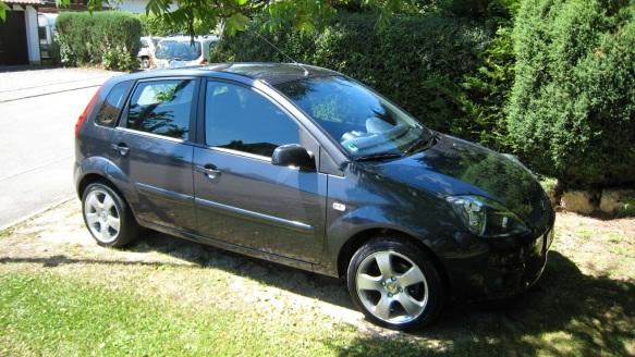 Mein Ford Fiesta im letzten Sommer (2008)