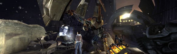"Szene aus ""Half-Life 2: Episode 1"""